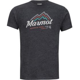 Marmot Beams - T-shirt manches courtes Homme - noir